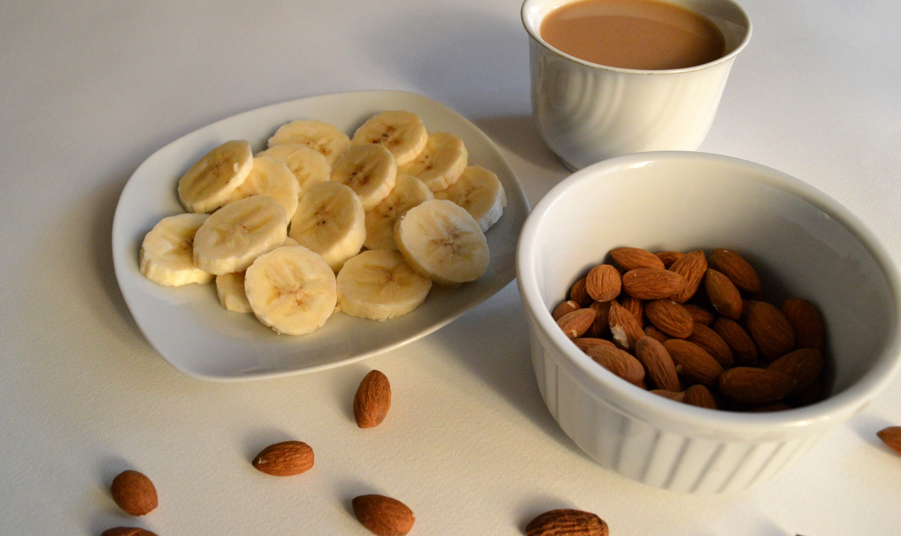 Choose nuts and fruit over crisps and sweets