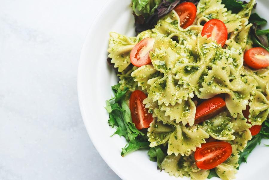 choose whole grain pasta over white pasta