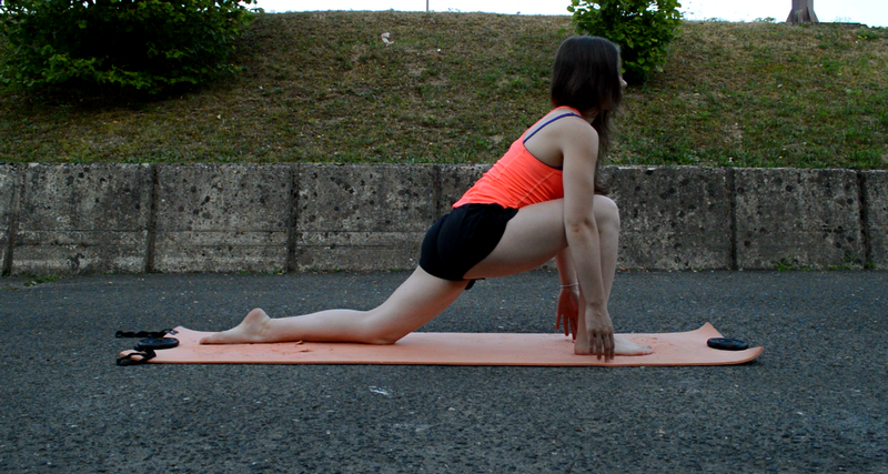 low lunge yoga