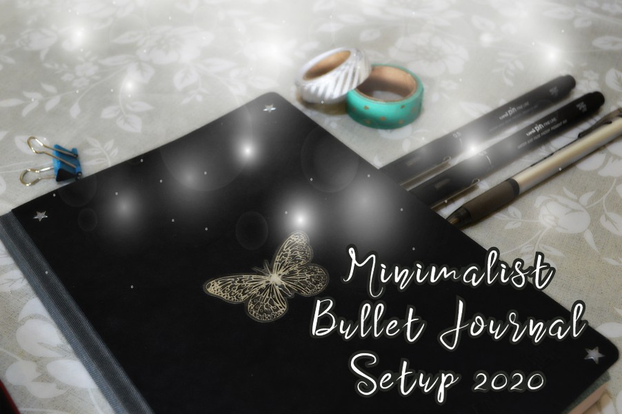 bullet journal setup minimalist